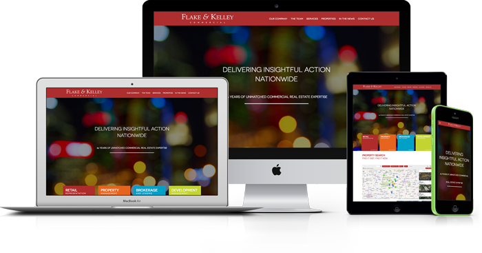The F&K website on multiple devices